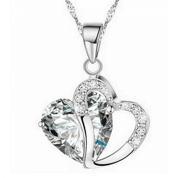 Heart-shaped Water Necklace